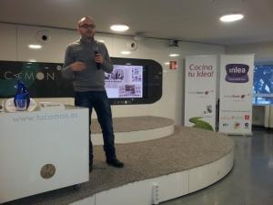 Jorge Villar de Notodovale charla emprendedores LInktostart